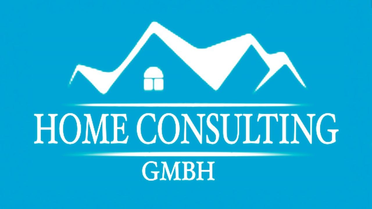 Logo design home consulting gmbh webdesign siegen for Burodesign gmbh logo